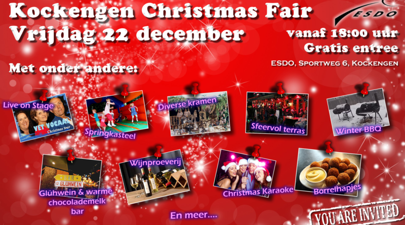 Vrijdag 22 december: Kockengen Christmas Fair
